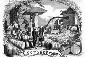colonial cider making